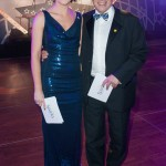 Co-hosting the 2012 Sparks Winter Ball with John Inverdale